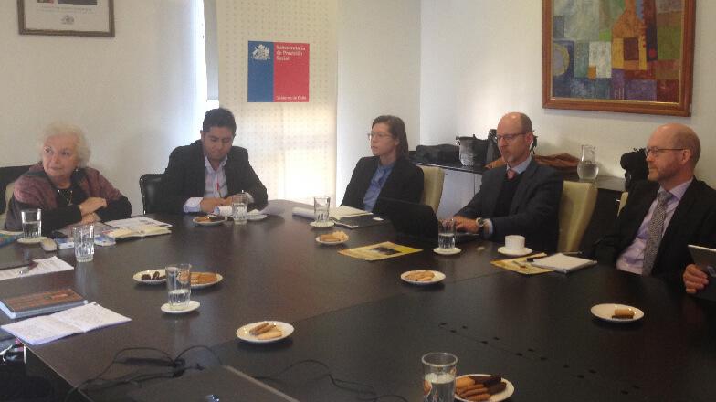 La Comisión se reúne con la Organización Mundial de Administradoras de Fondos de Pensiones