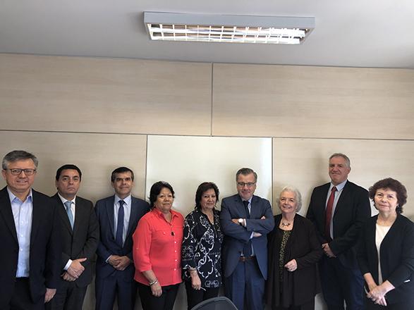 Comisión se reúne con la Superintendencia de Pensiones